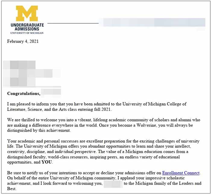 미국대학편입 University of Michigan Ann Arbor